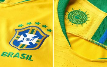 Brazil's World Cup jersey isn't yellow (apparently)