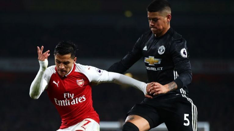Marcos Rojo lifts lid on past feud with Manchester United teammate Alexis Sanchez