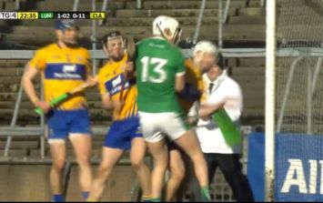 Clare defenders try to bully Aaron Gillane out of it, his response put them in their place