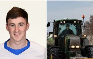 Conor Gleeson made his way to the Cork game in the most agricultural way possible