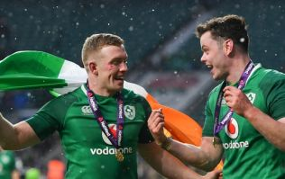 Dan Leavy and James Ryan's way of celebrating a Grand Slam would put us all to shame