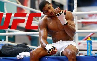 UFC preparing massive multi-fight offer for Anthony Joshua