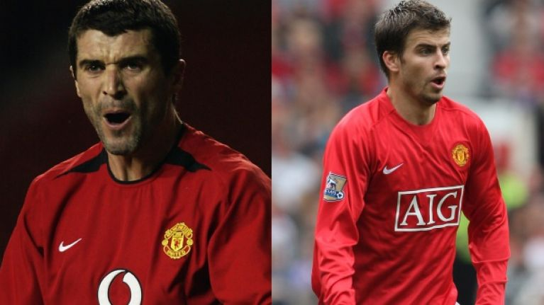 """I nearly shit myself"" – Gerard Pique reveals terrifying run-in with Roy Keane at Manchester United"
