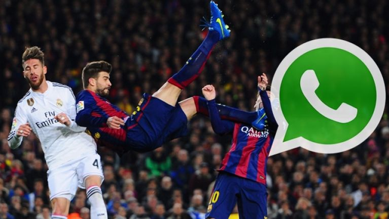 Gerard Pique started a WhatsApp group to thrash Spain teammates at Real Madrid