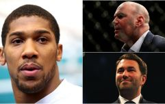 Anthony Joshua has responded to the UFC's interest in signing him to a deal