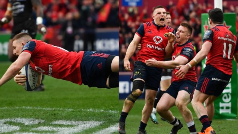 WATCH: Andrew Conway decimates Toulon to score dramatic winner for Munster