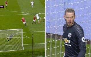 David De Gea does it again with ridiculous save against Swansea