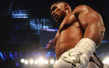 Anthony Joshua taken the distance for the first time in his career