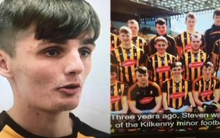 You'd have to admire Kilkenny lad on Underdogs