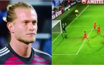 Loris Karius fails to deal with deflected cross as Malmo beat Besiktas