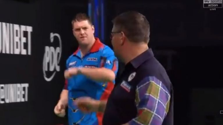 Gary Anderson had an issue with Daryl Gurney after Derry man annihilated him in Dublin