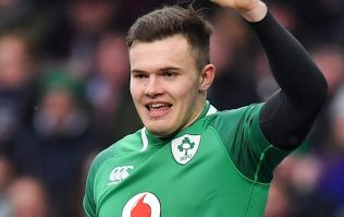 24 minutes into his season, Jacob Stockdale scores a stunner