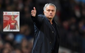 Jose Mourinho's programme notes suggest he's sticking around