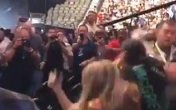 Conor McGregor fans clash with Russians in violent scenes at arena