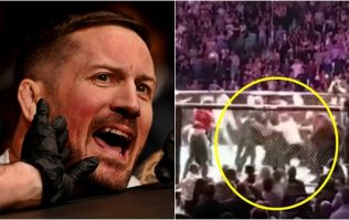John Kavanagh did his damnedest to protect Conor McGregor during UFC 229 madness