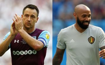 Thierry Henry and John Terry set to take over at Aston Villa