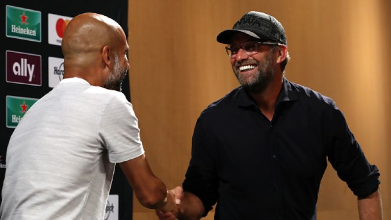Pep Guardiola shows huge respect to Jurgen Klopp's Liverpool with his post-match comments