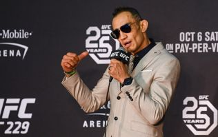 Tony Ferguson says he saw fear in Conor McGregor's eyes when he saw him backstage