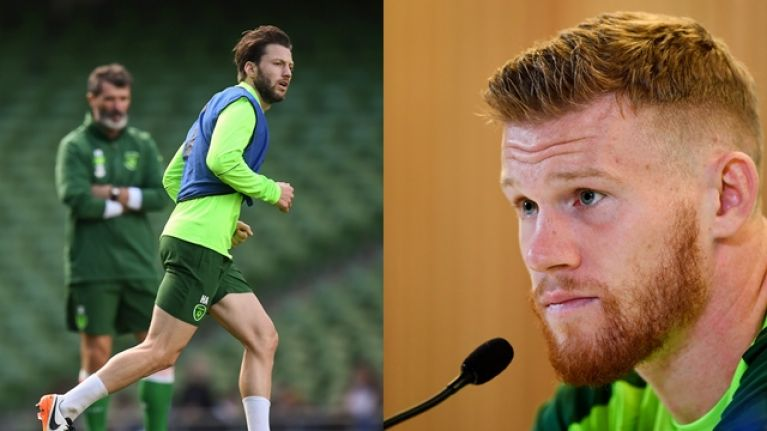 """""""As long as he's here, he's got my full backing"""" - James McClean speaks about Harry Arter's return to the Ireland squad"""