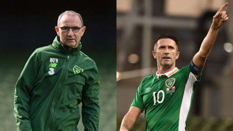 Martin O'Neill laments that Ireland no longer have Robbie Keane, but very few teams have a player like Robbie Keane