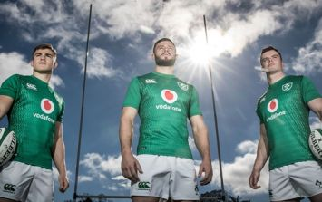 Ireland's new home jersey features two bold, new features