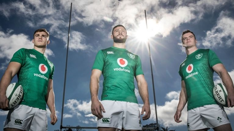 2df0be13cb1 Ireland s new home jersey features two bold