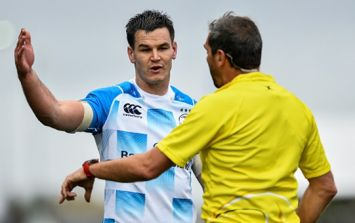 Ross Moriarty claims that Johnny Sexton is given preferential treatment