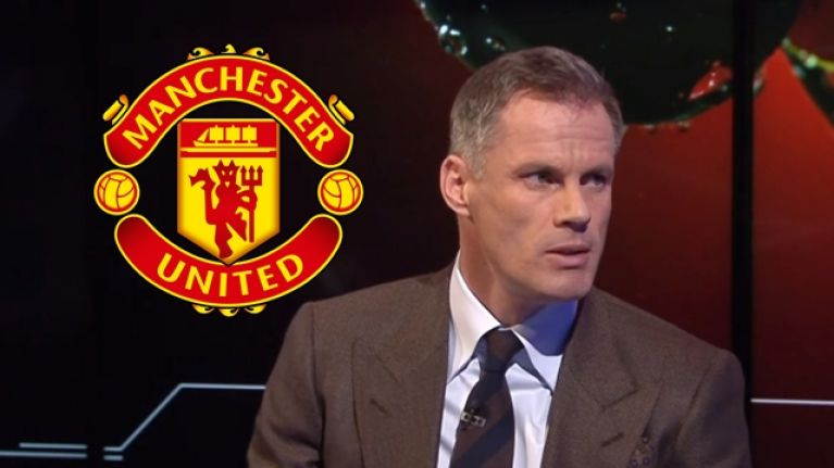 Jamie Carragher speaks about the most damning aspect of Man United's decline