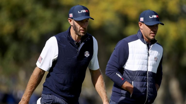 """Two American golfers reportedly """"had to be separated"""" following Ryder Cup defeat"""