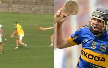 Former Tipp minor hero scores with the only shot no keepers can cope with