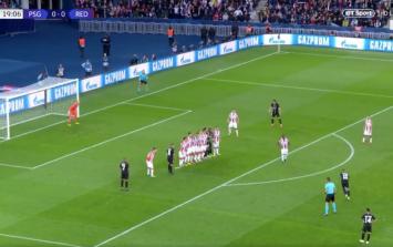 Neymar scores two stunning free kicks for PSG against Red Star Belgrade