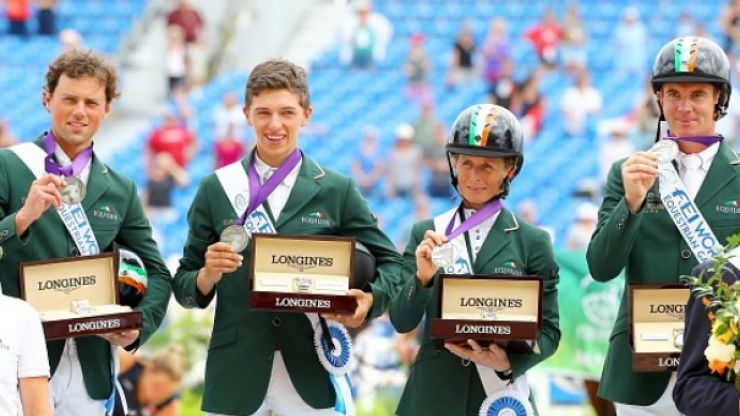 Sarah Ennis on finally winning a world equestrian medal after years of hurt