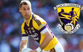 It took a Wexford hurling star to rain on Matty Forde's parade