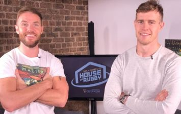 Barry Murphy and Andrew Trimble front our new show, Baz & Andrew's House of Rugby