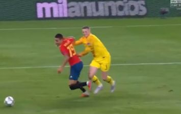 Jordan Pickford says his blunder would have led to a 'soft' penalty