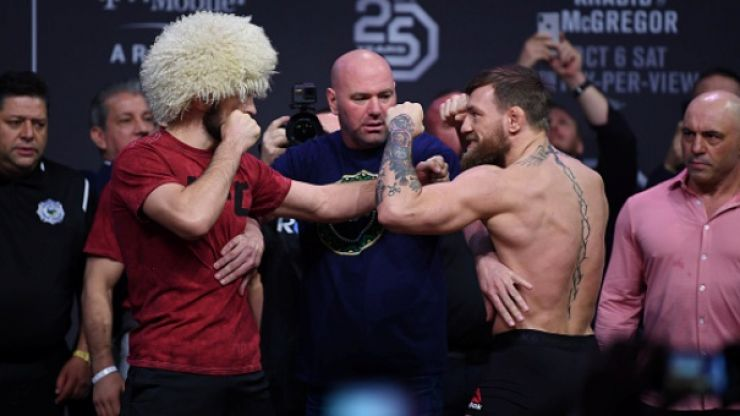Joe Rogan doesn't agree with giving McGregor a rematch against Khabib