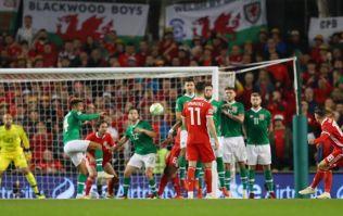 The stunning free-kick that sank Ireland