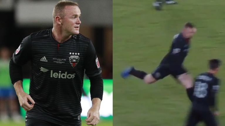 Wayne Rooney scores best goal since move to keep D.C. United streak going