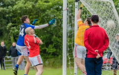 Dublin GAA club flying home goal machine for county final