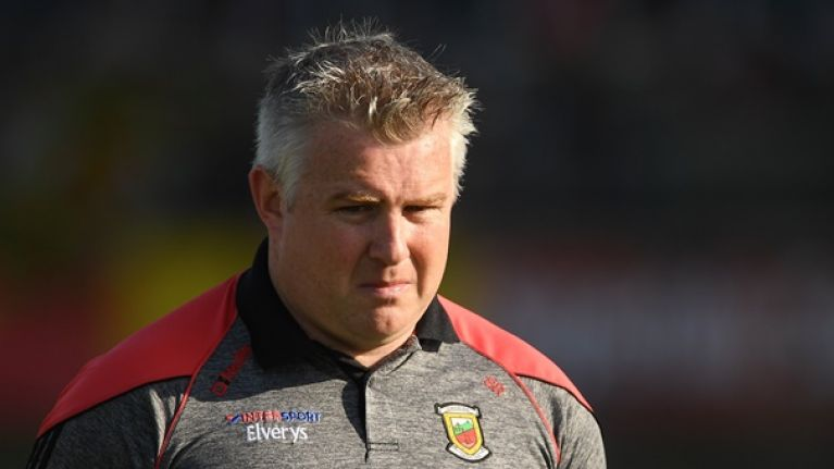 Former Mayo manager Stephen Rochford joins Donegal