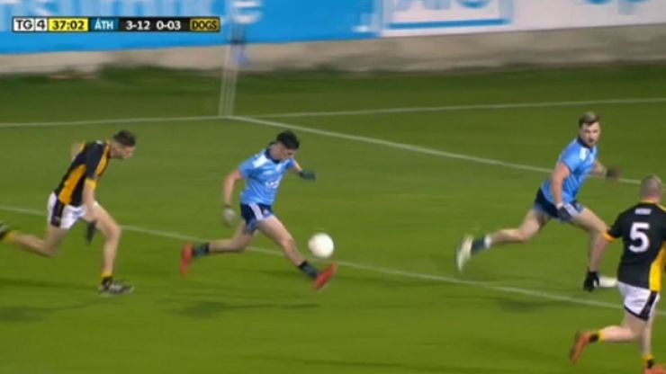 Dublin forward tearing it up against the Underdogs