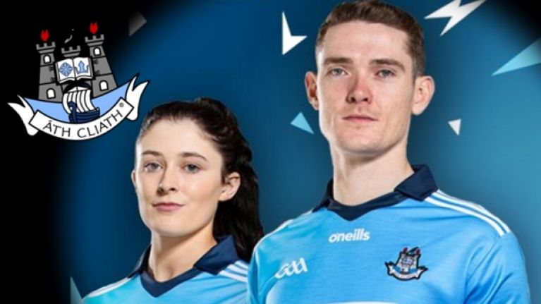 06c24046c1b Dublin's new GAA jersey includes new collar and sleeve designs ...