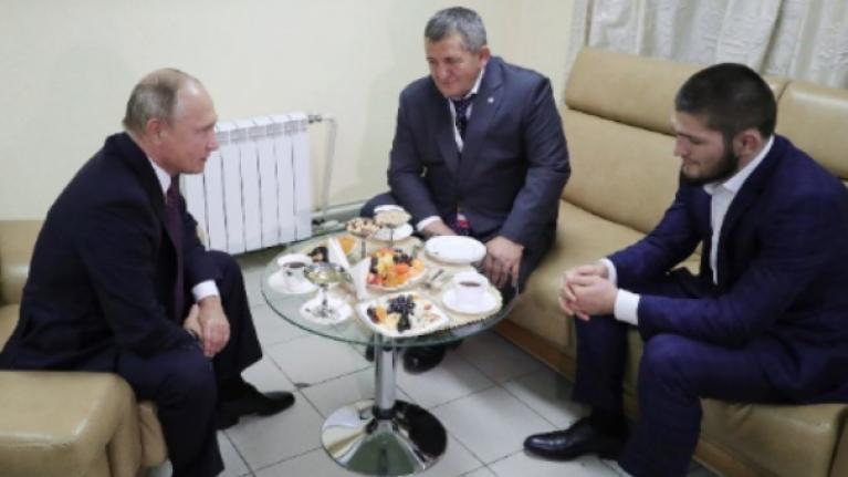 Vladimir Putin calls for leniency after Khabib's 'convincing' win over Conor McGregor