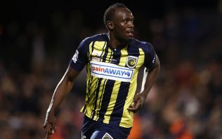Usain Bolt nets his first official goals in professional football