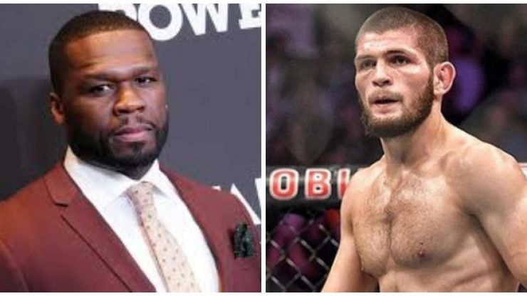 Khabib Nurmagomedov responds to 50 Cent's $2 million Bellator offer