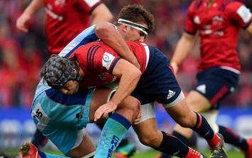 Duncan Williams proved the doubters wrong with tackle that saved Munster's skin