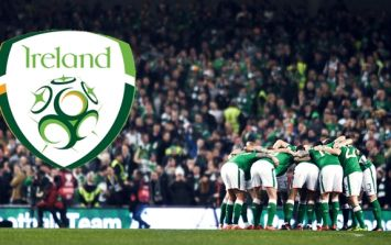 Republic of Ireland team to play Denmark has been named