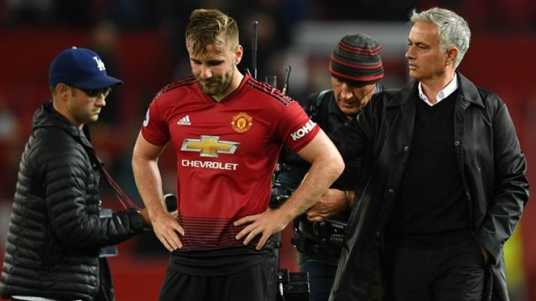 Jose Mourinho disagrees with Luke Shaw's theory about defeat to Juventus