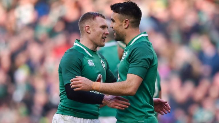 Conor Murray and Keith Earls record first win in horse racing