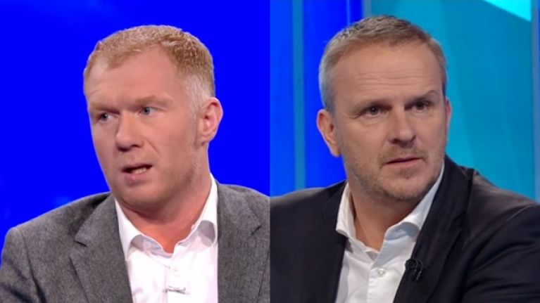 Paul Scholes and Didi Hamann made the same point about Man United's fans